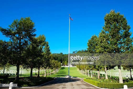 Florence, American Cemetery, Italy : Stock Photo