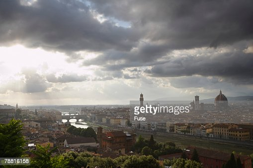 Florence and Arno River