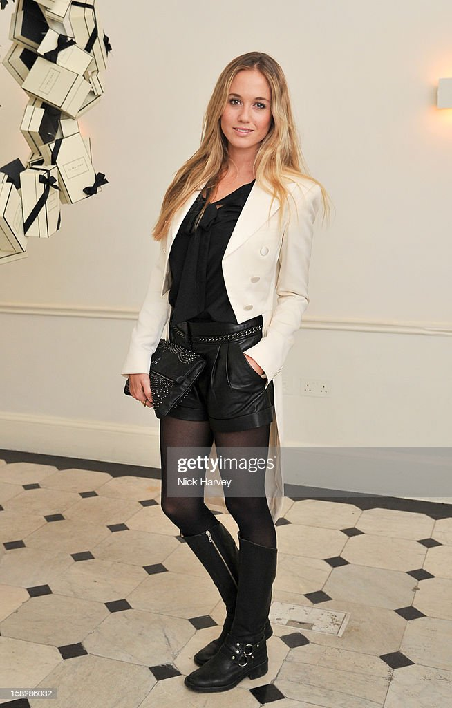Florence Brudenell-Bruce attends Jo Malone's Thoroughly Proper Party at Jo Malone London, Gloucester Place on December 12, 2012 in London, England.