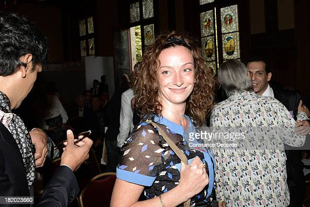 Florence Cassez guest at the IledeFrance Regional Councillor Socialist JeanLuc Romero and Christophe Michel's wedding on September 27 Paris France