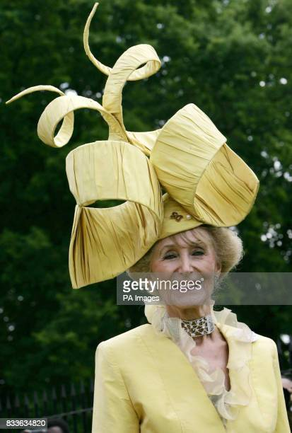 Florence Claridge arrives at Ascot for the second day of Royal Ascot
