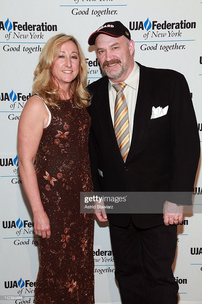 Florence Colburn and Keith Colburn attend the 2012 UJA-Federation Of New York's Leadership Awards Dinner at 583 Park Avenue on April 3, 2012 in New York City.