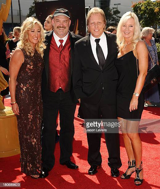 Florence Colburn Keith Colburn Sig Hansen and June Hansen attend the 2013 Creative Arts Emmy Awards at Nokia Theatre LA Live on September 15 2013 in...