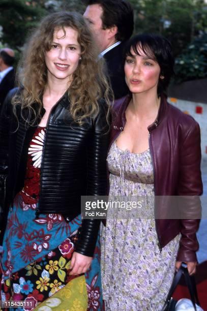 Florence Darel and Delphine Zentout during 'Mission Impossible III' Paris Premiere Arrivals April 26 2006 at UGC Dome de La Defense in Paris France
