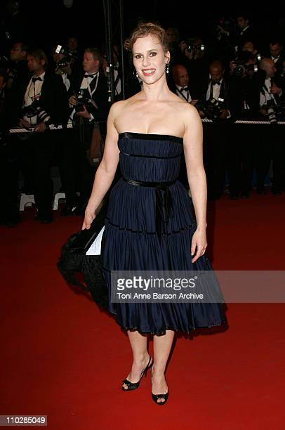 Florence Darel during 2006 Cannes Film Festival 'Southland Tales' Premiere at Palais des Festival in Cannes France