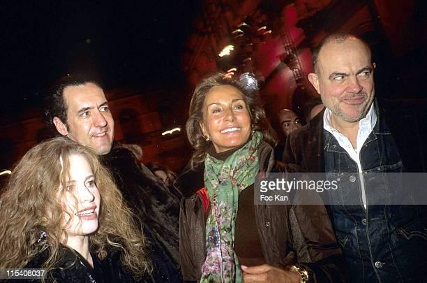 Florence Darel Jaime De Michalar Duc De Lego Natty Abiscal and Christian Lacroix