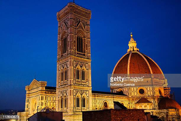 Florence. Duomo (cathedral) at dusk.