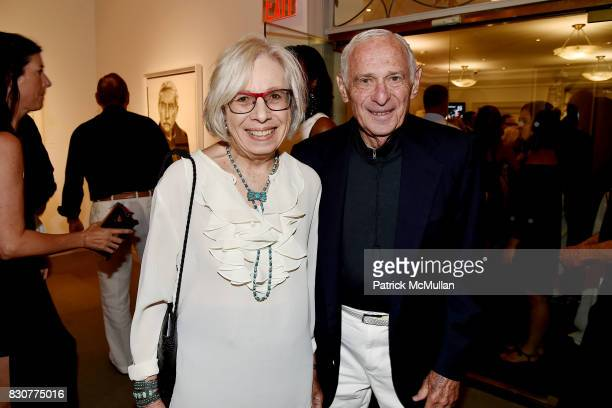 Florence Fabricant and Richard Fabricant attend the Guild Hall 2017 Summer Gala Celebrating AVEDON'S AMERICA at Guild Hall on August 11 2017 in East...