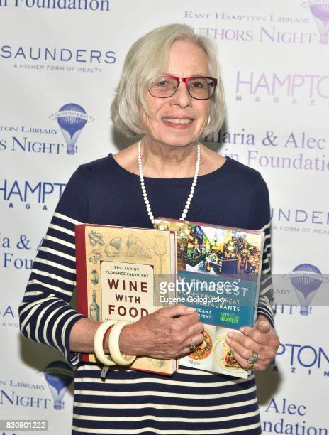 Florence Fabricant attends Authors Night 2017 At The East Hampton Library at The East Hampton Library on August 12 2017 in East Hampton New York