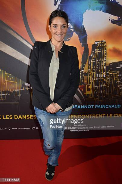 Florence Foresti attends 'Le Cirque Eloize' VIP Premiere at Le Grand Rex on March 15 2012 in Paris France
