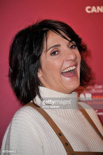 Florence Foresti attends the Cesar 2016 Nominee Press Conference at Le Fouquet's on January 27 2016 in Paris France