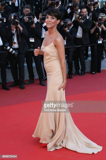Florence Foresti attends the Closing Ceremony during the 70th annual Cannes Film Festival at Palais des Festivals on May 28 2017 in Cannes France