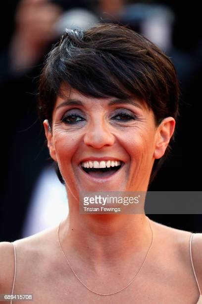 Florence Foresti attends the Closing Ceremony of the 70th annual Cannes Film Festival at Palais des Festivals on May 28 2017 in Cannes France