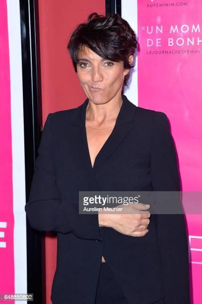 Florence Foresti attends the 'De Plus Belle' Paris premiere at Publicis Champs Elysees on March 6 2017 in Paris France