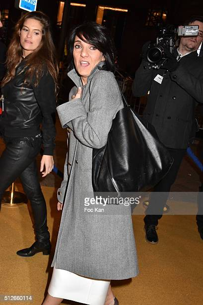 Florence Foresti attends the Dinner at Le Fouquet' after the Cesar Film Awards 2016 on February 26 2016 in Paris France