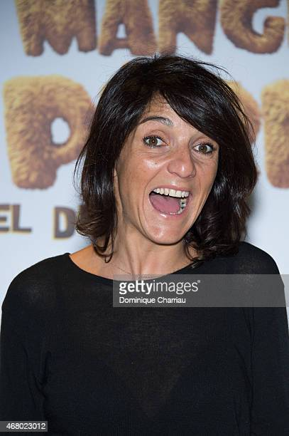 Florence Foresti attends the 'Pourquoi J'ai Pas Mange Mon Pere' premiere at Pathe Beaugrenelle in Paris on March 29 2015 in Paris France