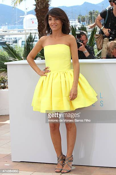 Florence Foresti attends the 'The Little Prince' photocall during the 68th annual Cannes Film Festival on May 22 2015 in Cannes France