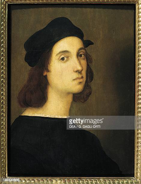 Florence Galleria Degli Uffizi Selfportrait by Raphael Sanzio