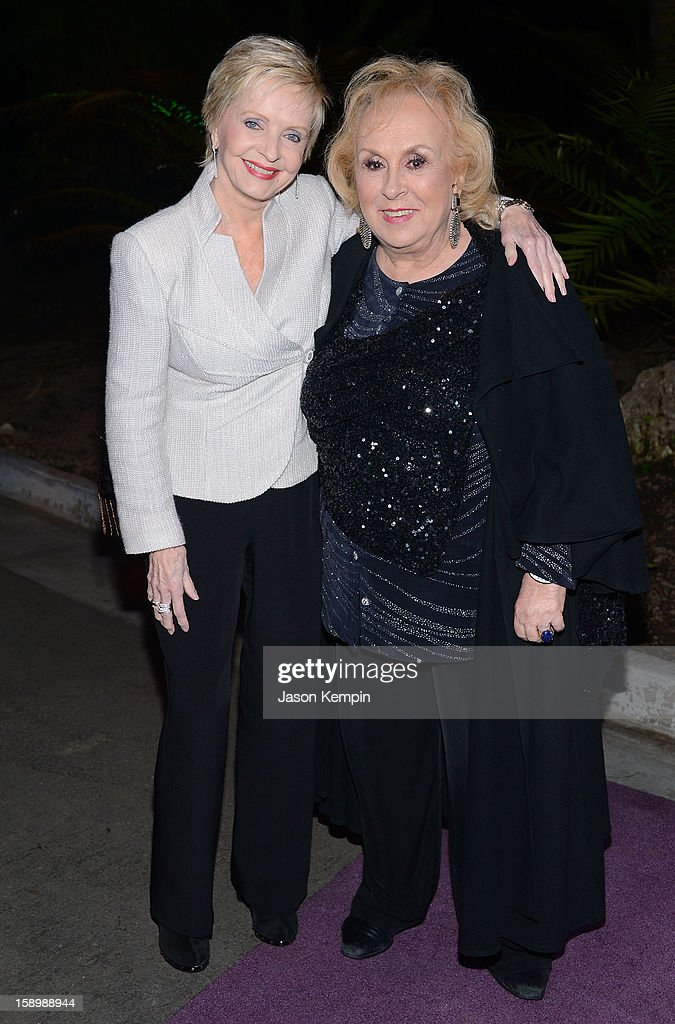 <a gi-track='captionPersonalityLinkClicked' href=/galleries/search?phrase=Florence+Henderson&family=editorial&specificpeople=171392 ng-click='$event.stopPropagation()'>Florence Henderson</a> and <a gi-track='captionPersonalityLinkClicked' href=/galleries/search?phrase=Doris+Roberts&family=editorial&specificpeople=209247 ng-click='$event.stopPropagation()'>Doris Roberts</a> attend the Hallmark Channel and Hallmark Movie Channel's '2013 Winter TCA' Press Gala at The Huntington Library and Gardens on January 4, 2013 in San Marino, California.