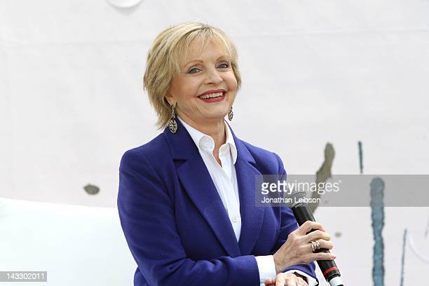 Florence Henderson attends the 17th Annual Los Angeles Times Festival Of Books Day 2 at USC on April 22 2012 in Los Angeles California