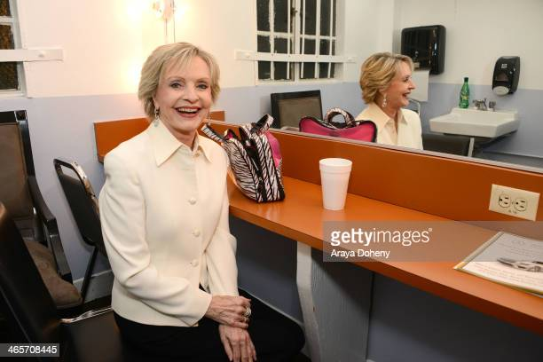 Florence Henderson attends the city of Beverly Hills 100th anniversay celebration centennial concert and singalong at Saban Theatre on January 28...