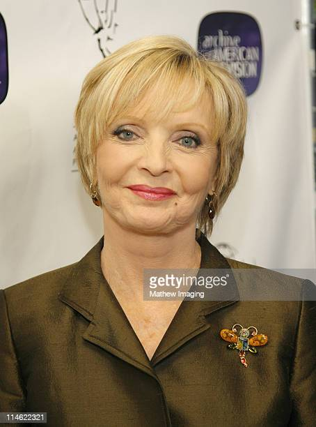 Florence Henderson during 10th Anniversary of The Archive of American TV Red Carpet and Inside at Crustacean in Beverly Hills California United States