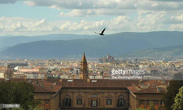 Florence is seen from the Boboli Gardens on Friday May 17 2013 in Florence Italy Florence was a major center for art during the Renaissance