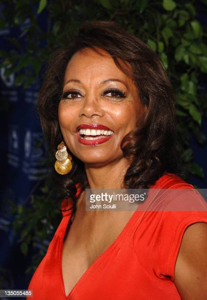 Florence LaRue during Starry Night Benefit Honoring Los Angeles Mayor Antonio Villaraigosa Red Carpet at Villa Casablanca in Malibu California United...