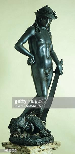 Florence Museo Nazionale Del Bargello David ca 1440 by Donatello