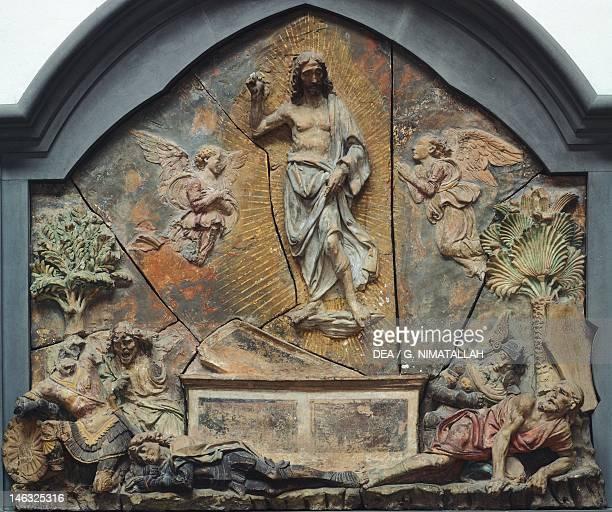 Florence Museo Nazionale Del Bargello Resurrection by Andrea del Verrocchio