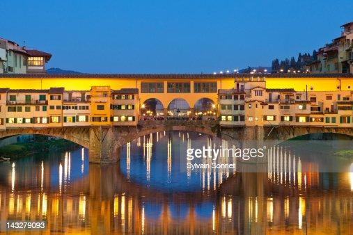 Florence,  Ponte Vecchio over the Arno river