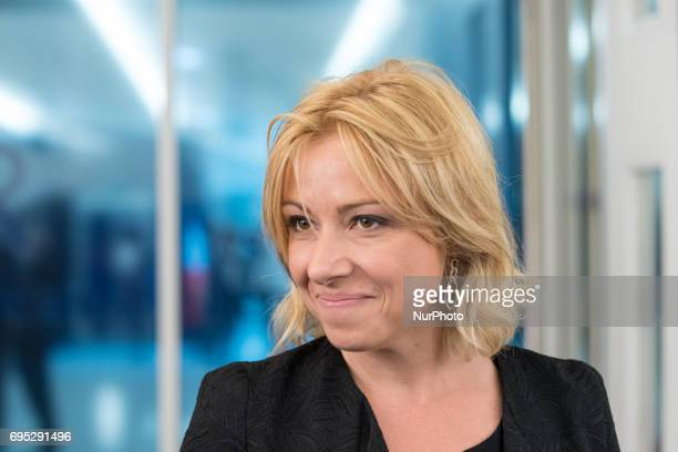Florence Porteli in Paris France on May 16 2017 for a LR Right Wing Party meeting after to think about a new strategy in the second round of the...