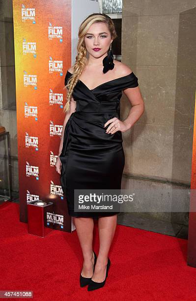 Florence Pugh attends the 58th BFI London Film Festival Awards at on October 18 2014 in London England