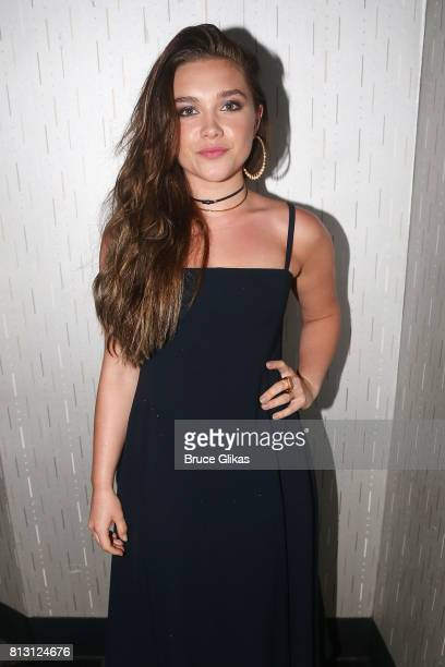 Florence Pugh poses at a screening and QA for her new film 'Lady Macbeth' at The IFC Center on July 11 2017 in New York City