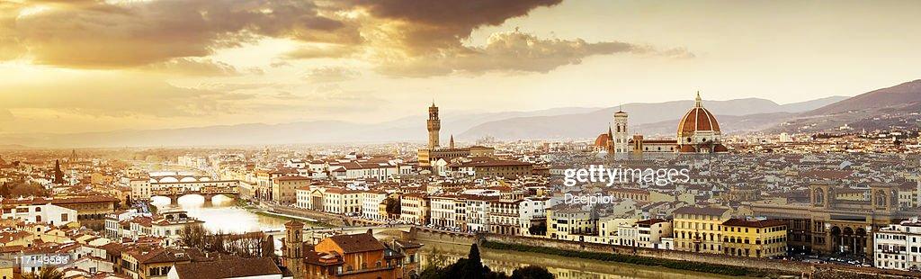 Florence Skyline : Stock Photo