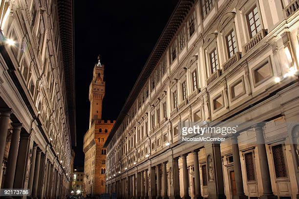 Florence Ufizzi at night