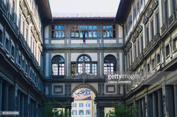 Florence, Vasari Corridor of Galleria degli Uffizi