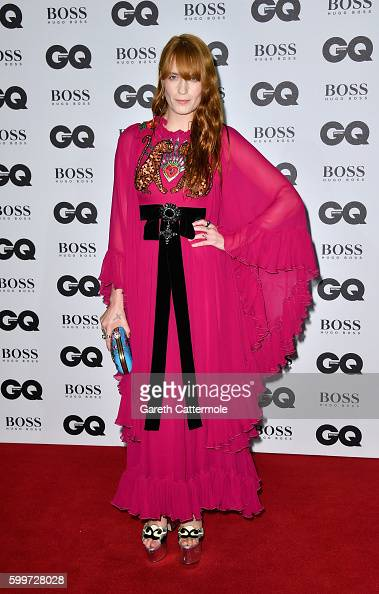 Florence Welch arrives for GQ Men Of The Year Awards 2016 at Tate Modern on September 6 2016 in London England