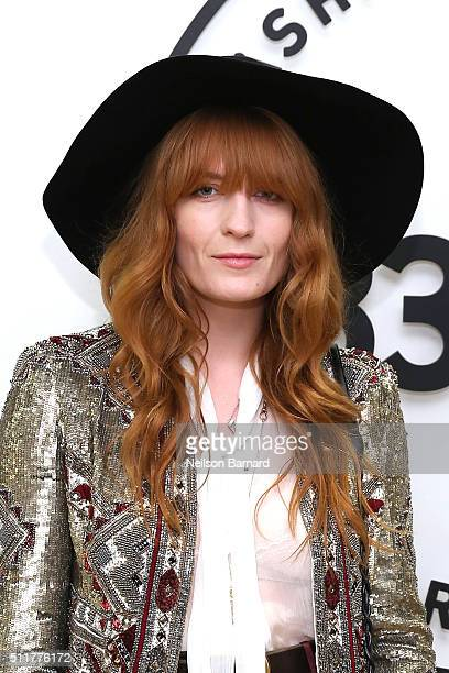 Florence Welch attends Samsung 837 Launch with Florence The Machine at Samsung 837 in Meatpacking District on February 22 2016 in New York City