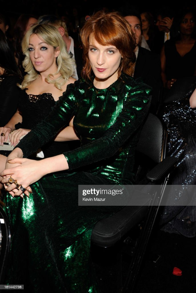 Florence Welch attends the 55th Annual GRAMMY Awards at STAPLES Center on February 10, 2013 in Los Angeles, California.