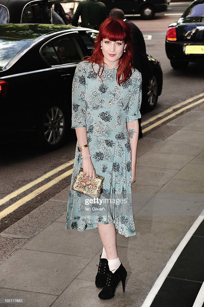 Florence Welch attends the English National Ballet 60th Anniversary party at the Dorchester Hotel on June 15, 2010 in London, England.