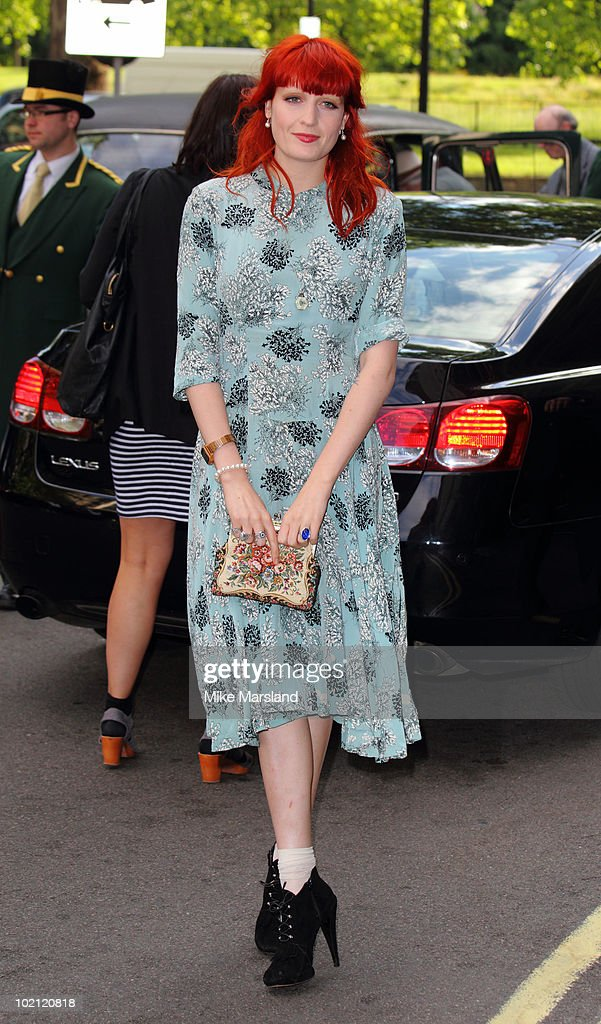 Florence Welch attends the English National Ballet's Summer Party at The Dorchester on June 15, 2010 in London, England.