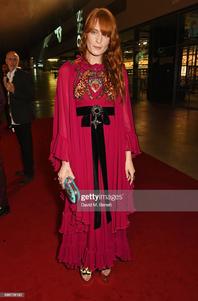 Florence Welch attends the GQ Men Of The Year Awards 2016 at the Tate Modern on September 6, 2016 in London, England.
