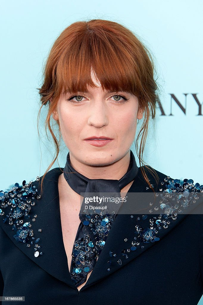 Florence Welch attends 'The Great Gatsby' world premiere at Alice Tully Hall at Lincoln Center on May 1, 2013 in New York City.