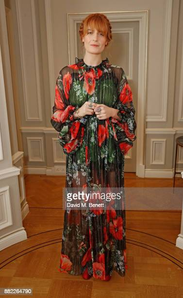 Florence Welch attends the mothers2mothers Winter Fundraiser hosted by Salma Hayek Pinault and FrancoisHenri Pinault The dinner is in support of...