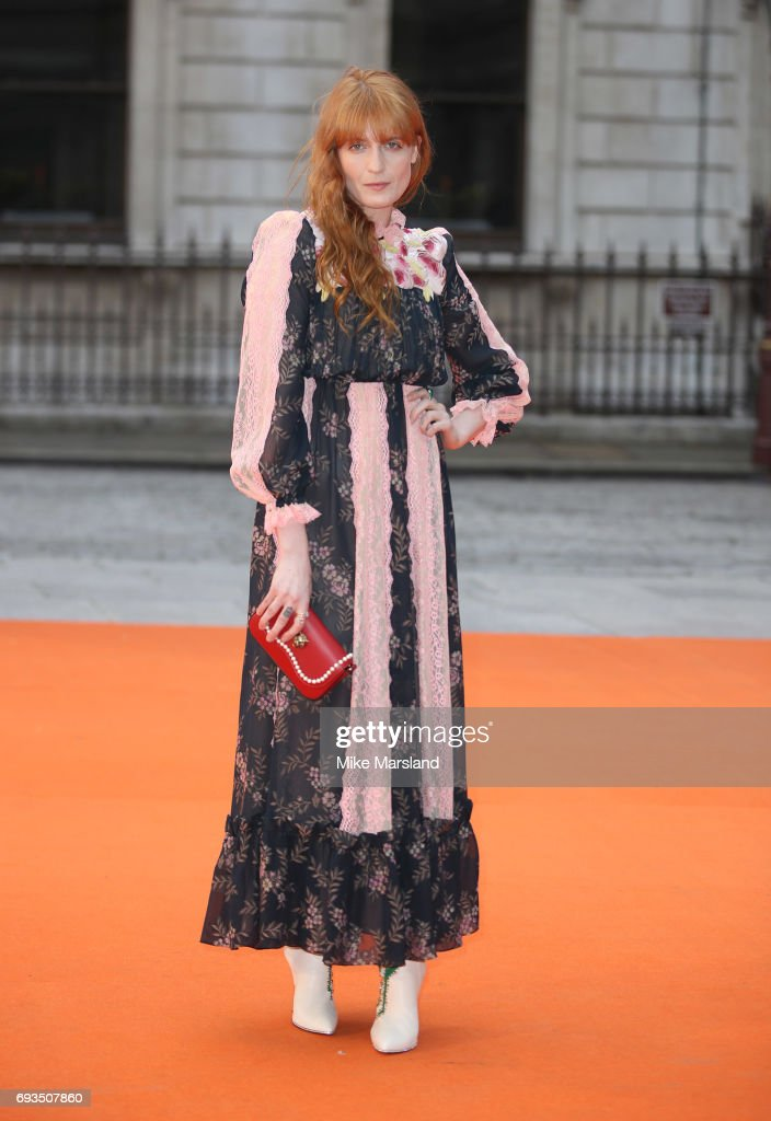 Florence Welch attends the preview party for the Royal Academy Summer Exhibition at Royal Academy of Arts on June 7, 2017 in London, England.