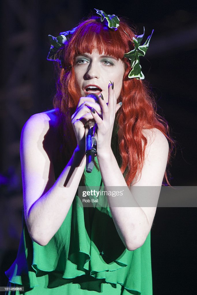 <a gi-track='captionPersonalityLinkClicked' href=/galleries/search?phrase=Florence+Welch&family=editorial&specificpeople=5431574 ng-click='$event.stopPropagation()'>Florence Welch</a> from Florence and the machine performs at Bestival 2012 at Robin Hill Country Park on September 7, 2012 in Newport, Isle of Wight.