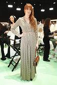Gucci - Arrivals at Backstage - Milan Fashion Week...