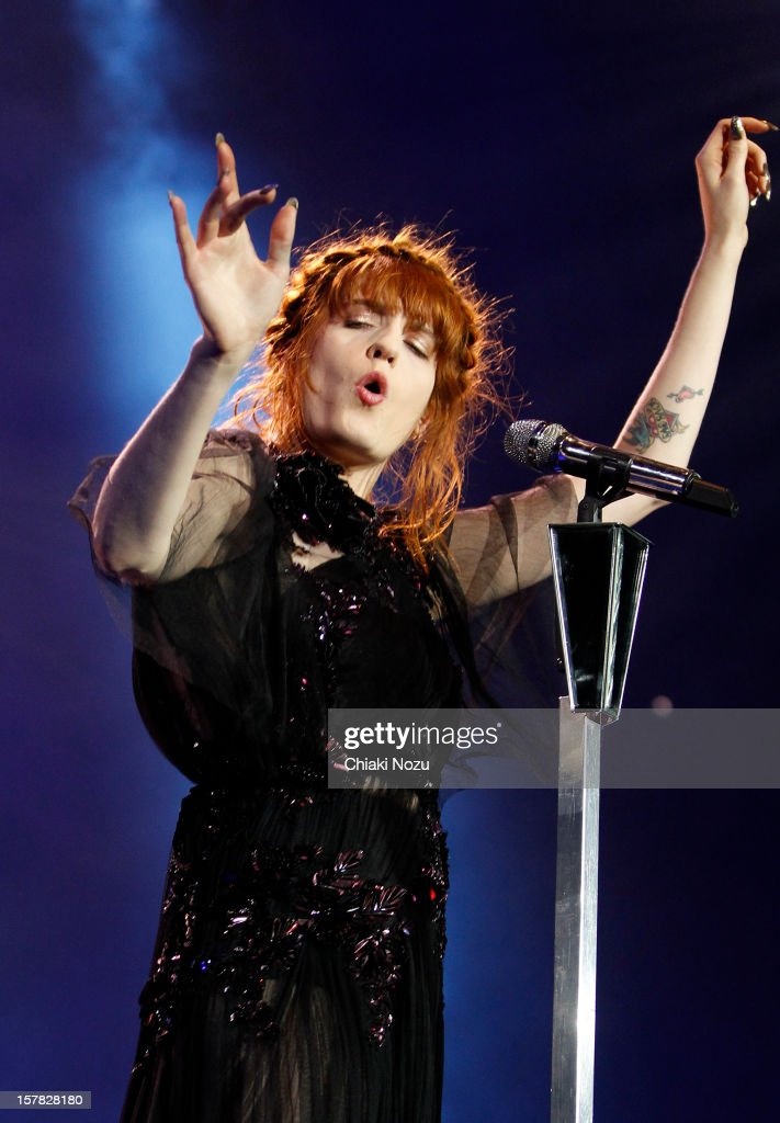 <a gi-track='captionPersonalityLinkClicked' href=/galleries/search?phrase=Florence+Welch&family=editorial&specificpeople=5431574 ng-click='$event.stopPropagation()'>Florence Welch</a> of Florence and the Machine performs at 02 Arena on December 6, 2012 in London, England.