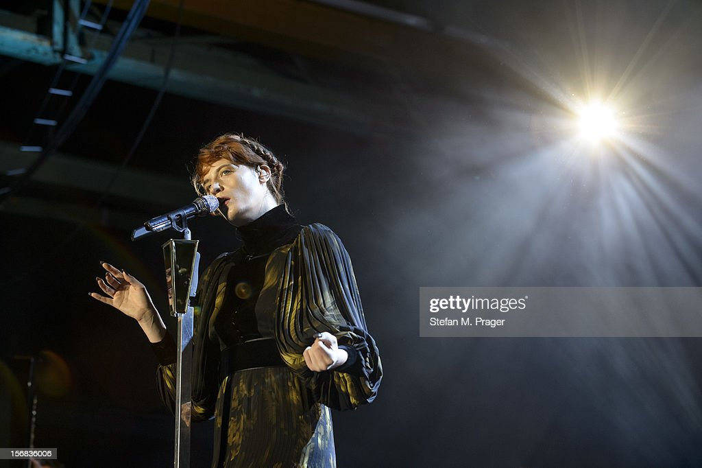 <a gi-track='captionPersonalityLinkClicked' href=/galleries/search?phrase=Florence+Welch&family=editorial&specificpeople=5431574 ng-click='$event.stopPropagation()'>Florence Welch</a> of Florence and the Machine performs at Zenith on November 22, 2012 in Munich, Germany.